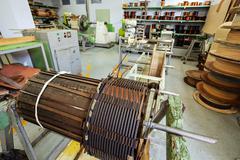 High voltage transformer Stock Photos