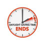 Daylight saving time Stock Illustration