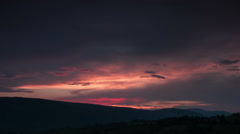 Sunset timelapse - stock footage