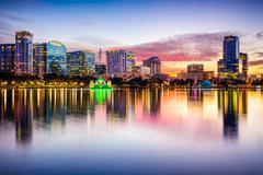 Orlando Florida Skyline - stock photo