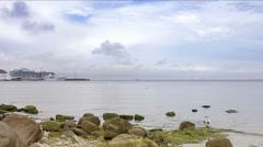 Baltic sea coast. Stock Footage