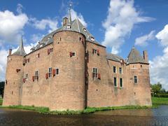 Ammersoyen Castle. - stock photo