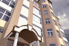 Multistorey Building Stock Illustration