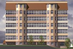 Multistorey Building - stock illustration
