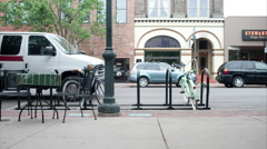 Traverse City, Michigan Downtown Time-lapse - stock footage