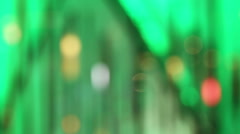 Abstract background from defocus rectangle with lighting Stock Footage
