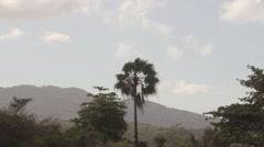 Blue Mountains landscape Saint James Parish Montego Bay, Jamaica Stock Footage