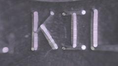 1kilo kilo 1 silver bar Stock Footage