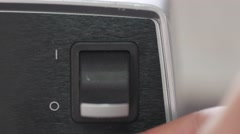 jm1521 Big Power Switch Blender On Off Medium - stock footage