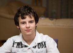 Boy portrait Stock Photos