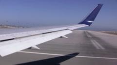 SFO takeoff Stock Footage
