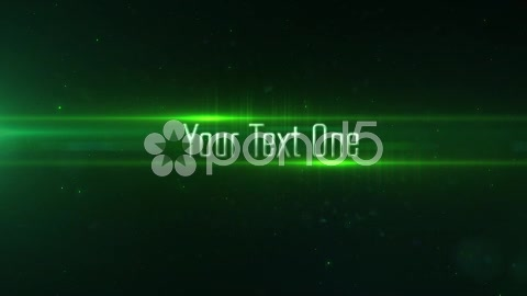 After Effects Project - Pond5 Toxic Green Particle Lights 3D Text Transitio ...