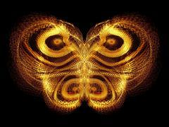 Virtual Butterfly Stock Illustration