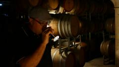 Wine Maker Stock Footage