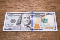 Dollars bank note Stock Photos