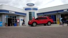Ford Driving School Legoland Florida Stock Footage