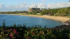 Kaanapali Beach, Maui, Hawaii Stock Footage