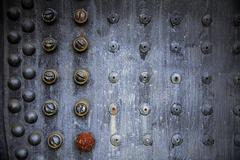 Rusting Rivet Pattern - stock photo