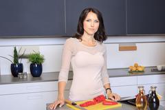 kitchen activities - stock photo