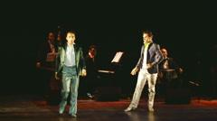 Men tango - Stars Argentine Tango -  - dance 03 part 1 Stock Footage