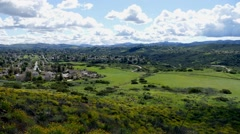 Thousand Oaks California Time Lapse Stock Footage