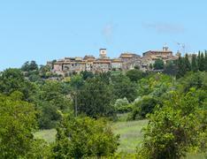 Otricoli (Umbria, Italy) - stock photo
