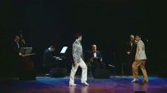 Men tango - Stars Argentine Tango -  - dance 09 part 1 Stock Footage