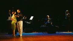 Stars Argentine Tango - dance 10 part 1 Stock Footage