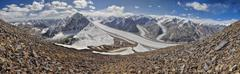 Pamir in Tajikistan Stock Photos
