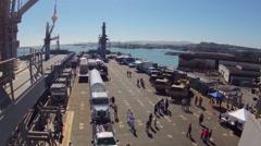Fleet Week 2014 Timelapse Stock Footage