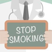 Stop Smoking Stock Illustration