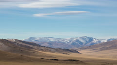 Mountain steppes of Mongolia - stock footage