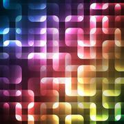 Stock Illustration of Abstract bright spectrum wallpaper. Vector illustration