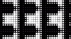 Black and White Rectangles 09 Stock Footage
