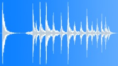 Metal bowl spin, spinning Sound Effect