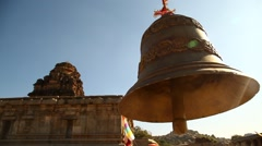 Temple Bell Stock Footage