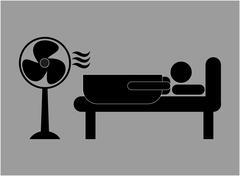 fan service design, vector illustration eps10 graphic - stock illustration
