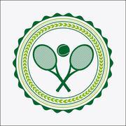Stock Illustration of tennis sport design, vector illustration eps10 graphic