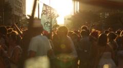 Street Carnival of Rio de Janeiro # 29 Stock Footage