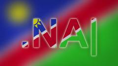 NA - Internet Domain of Namibia Stock Footage