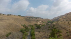 Jordan river, Israel Stock Footage