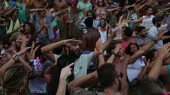 Street Carnival of Rio de Janeiro # 26 Stock Footage