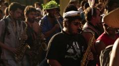 Street Carnival of Rio de Janeiro # 23 Stock Footage