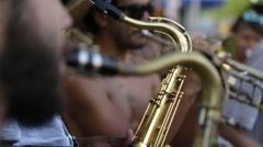 Street Carnival of Rio de Janeiro # 22 Stock Footage