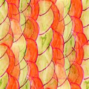 Stock Illustration of seamless Red, marsh watercolor artist wallpaper modern texture o