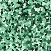 Green infinity pattern - stock illustration