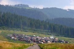 Stock Photo of Gypsy colony