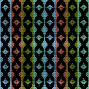 Seamless fractal pattern Stock Illustration