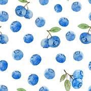 Berry pattern - stock illustration