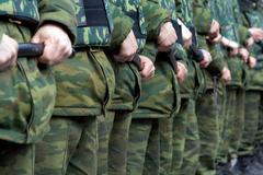 Russian special police forces - stock photo